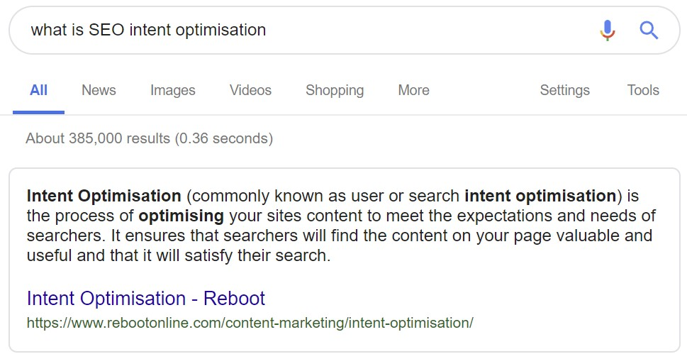 Featured image for Intent Optimisation - The Missing Part of Your Content Marketing Campaign?